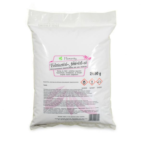 Folttisztító, fehérítő só (nátrium perkarbonát) 2400 gramm