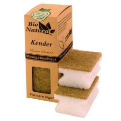 Kender mosogatószivacs - 4 db