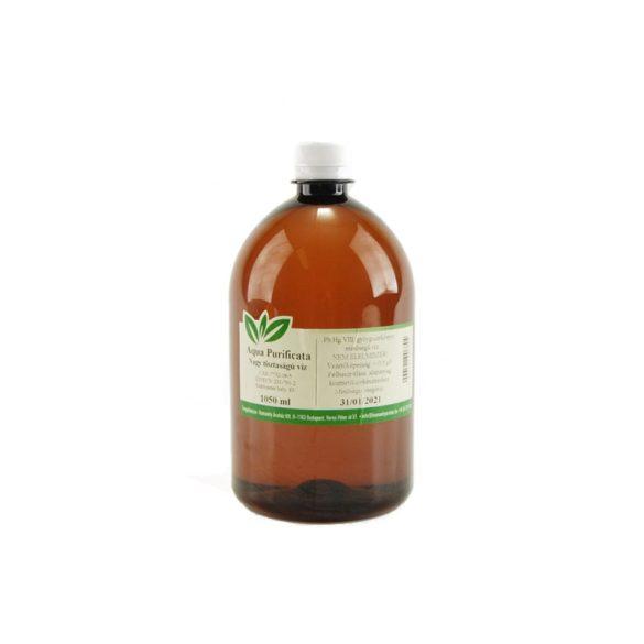 Aqua Purificata / Tisztított víz