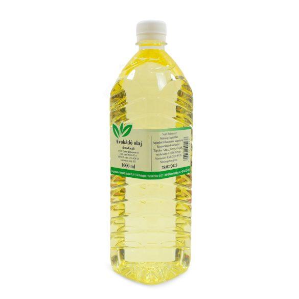 Avokádó olaj -  dezodorált - 1 liter