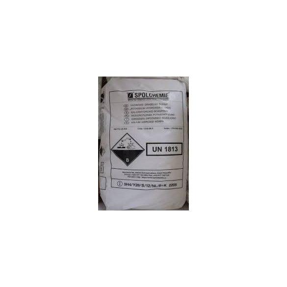 Kálium-hidroxid (pikkely) 25 kg