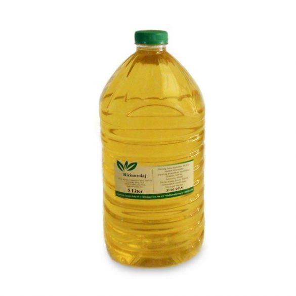 Ricinusolaj szűz - Castor oil - gyógyszerkönyvi tisztaságú 5000 ml