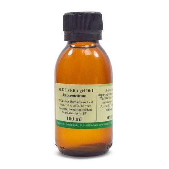 Aloe Vera Gél 10:1 koncentrátum 100 ml