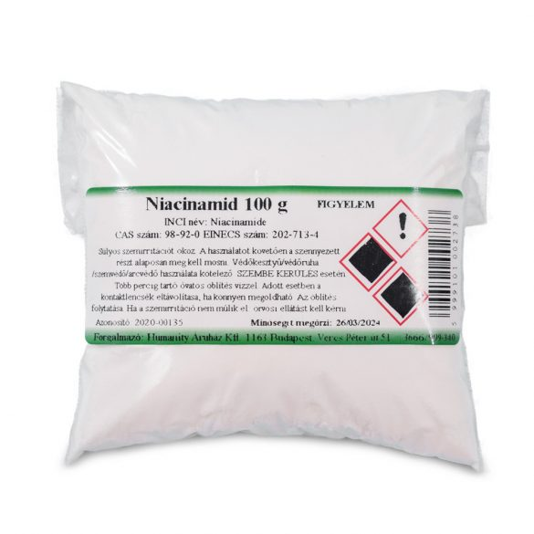 Niacinamid  (nikotinamid) 100 gramm