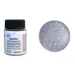 Szappanszínező por - ezüst