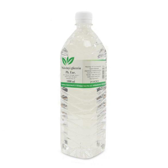Glicerin növényi 99,5%-os, Ph.Eur 1 liter