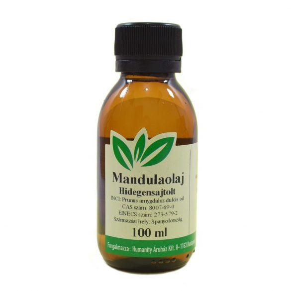 Mandula olaj - hidegensajtolt - 100 ml