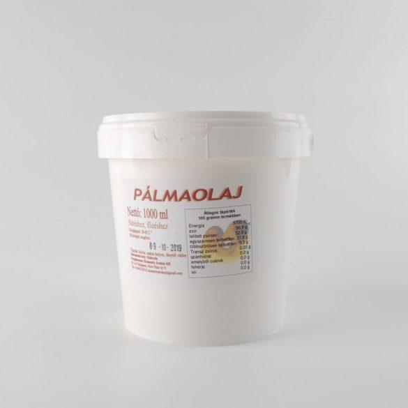 Pálmaolaj / pálmazsír 1 liter - vödrös