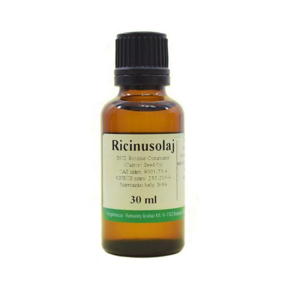 Ricinusolaj szűz - Castor oil - gyógyszerkönyvi tisztaságú 30 ml