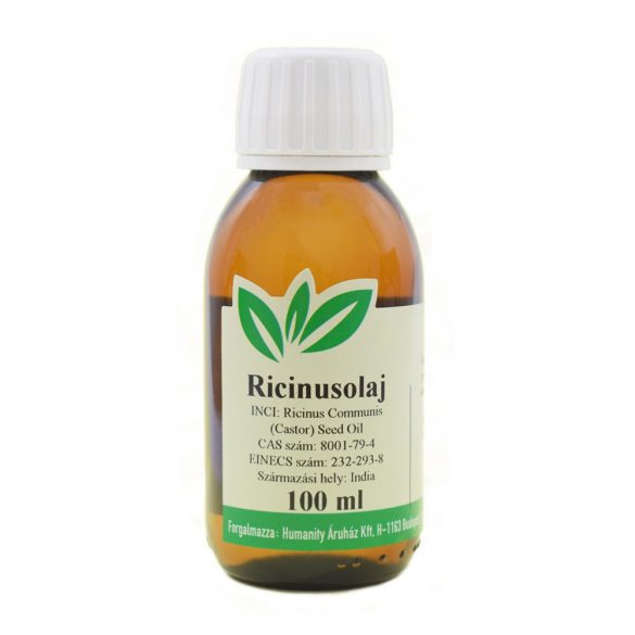 Ricinusolaj szűz / Castor oil, gyógyszerkönyvi tisztaságú