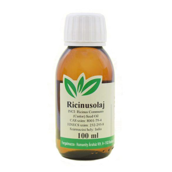 Ricinusolaj szűz - Castor oil - gyógyszerkönyvi tisztaságú 100 ml