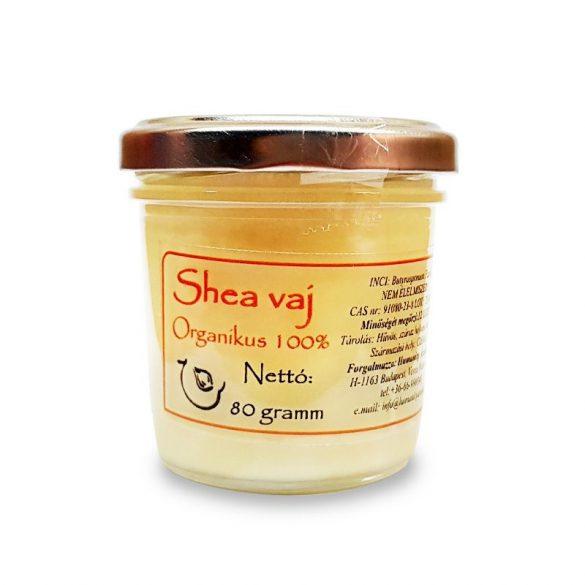 Shea vaj natúr, finomítatlan - 80 gramm