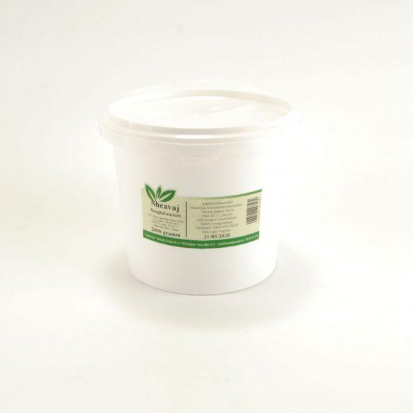 Shea vaj tömb  - dezodorált - 2000 gramm