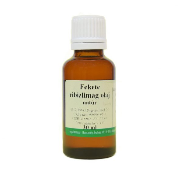 Fekete ribizlimag olaj 30 ml