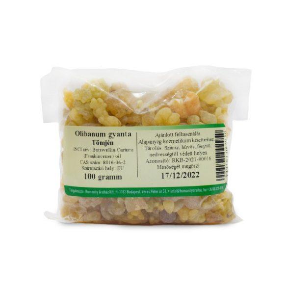 Olibanum gyanta (tömjén) 100 gramm
