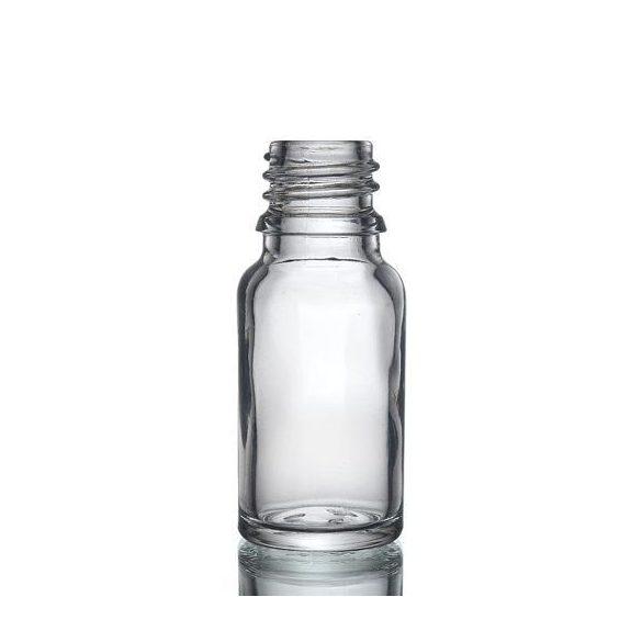 Víztiszta illóolajos üveg 10 ml