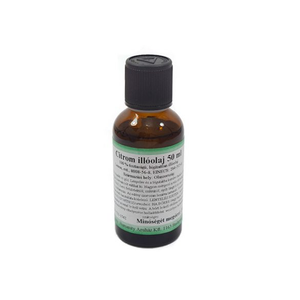 Citrom illóolaj 50 ml