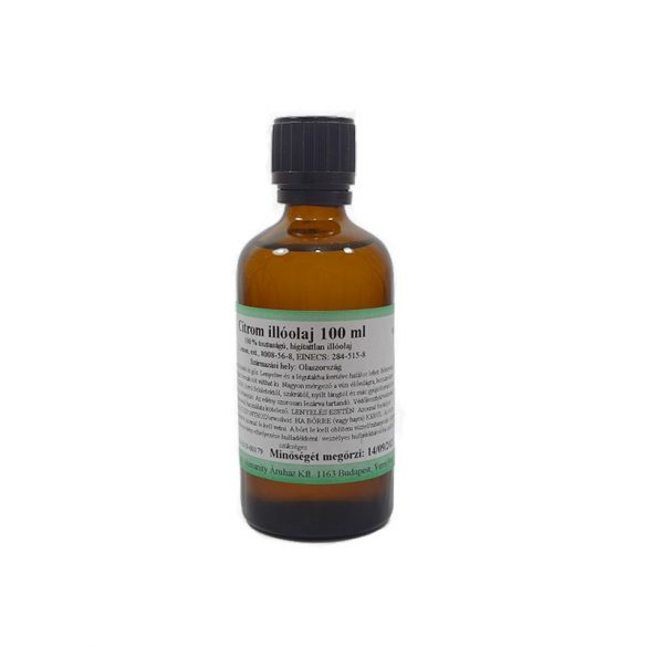 Citrom illóolaj 100 ml