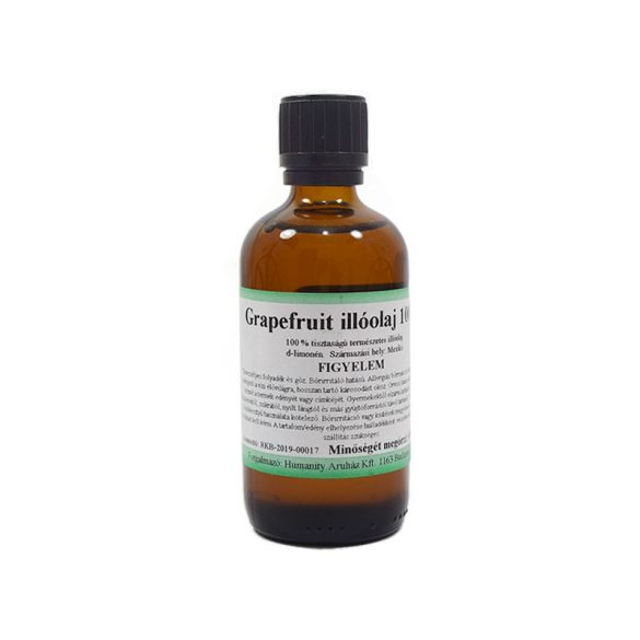 Grapefruit illóolaj 100 ml