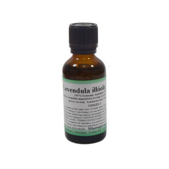 Levendula 100% tisztaságú, természetes illóolaj 50 ml