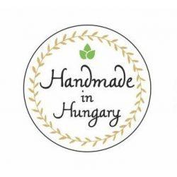 Körcímke - Handmade in Hungary - 20 db/cs
