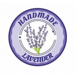 Körcímke - Handmade lavender - 20 db/cs