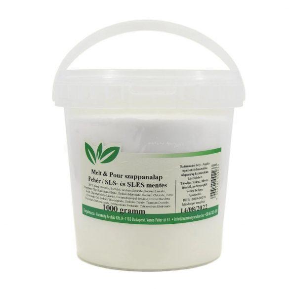 Melt & Pour fehér szappanalap - 1 kg