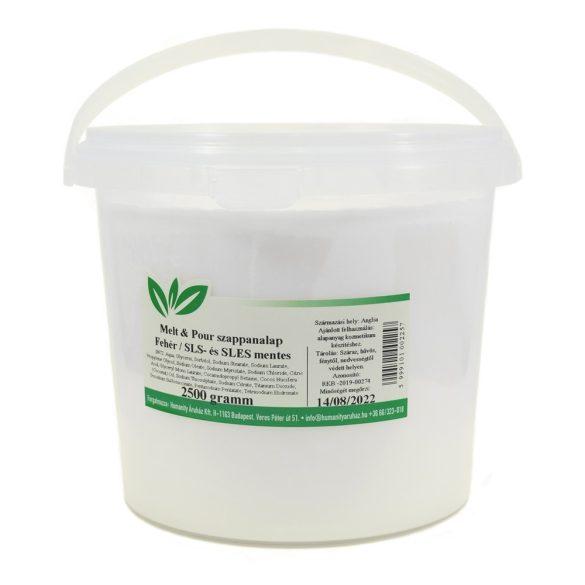 Melt & Pour fehér szappanalap - 2,5 kg