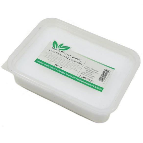 Melt & Pour fehér szappanalap - 500 gramm