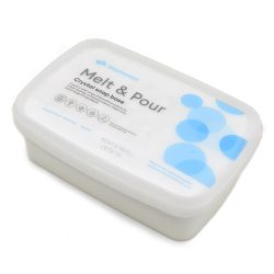 Kecsketejes fehér szappanalap 1 kg Melt & Pour