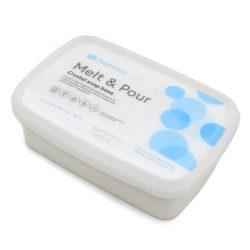 Melt & Pour kecsketejes fehér szappanalap - 1 kg