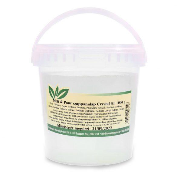Melt & Pour szappanalap Crystal ST ( Transzparens ) - 1 kg