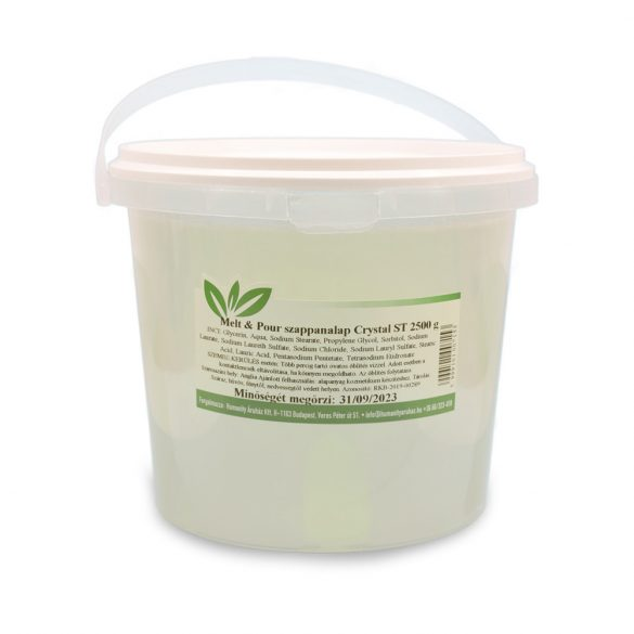 Melt & Pour szappanalap Crystal ST ( Transzparens ) 2500 gramm