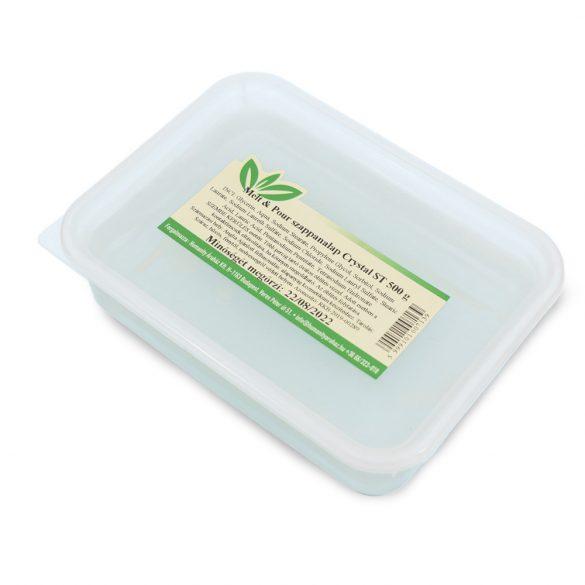 Melt & Pour szappanalap Crystal ST ( Transzparens ) - 500 gramm