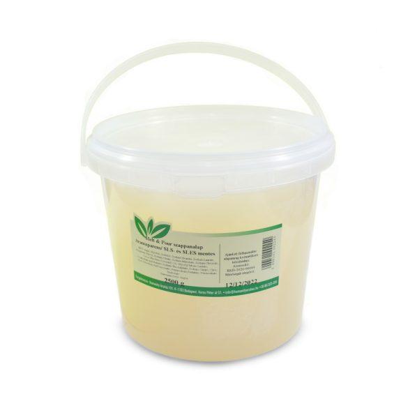 Melt & Pour szappanalap  (transzparens) - 2,5 kg