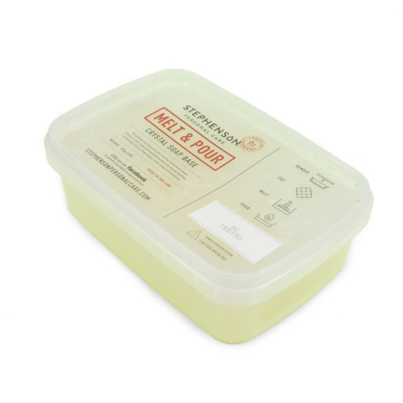 Melt & Pour repcés és kókuszolajos szappanalap  - 1 kg