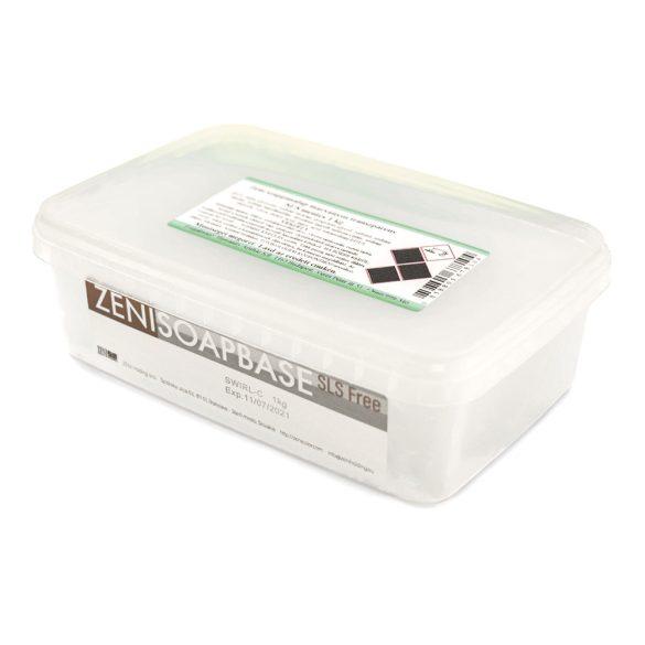 Zeni márványos szappanalap  - SLS-mentes - (transzparens) - 1 kg