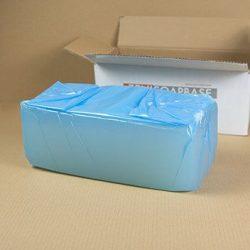 Zeni fehér márványos szappanalap - SLS mentes - 9 kg