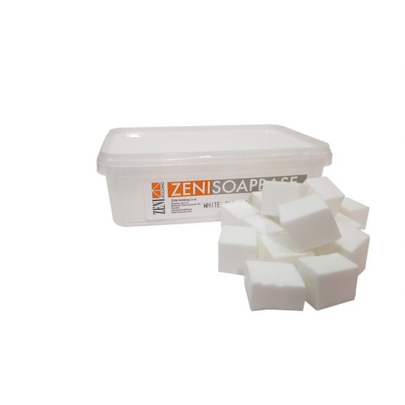 Zeni fehér szappanalap - SLS mentes - 1 kg