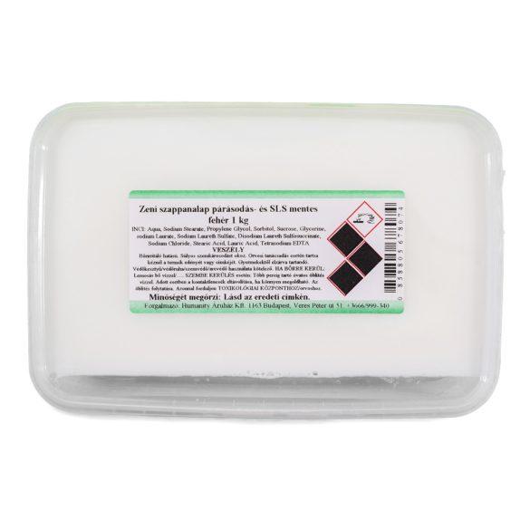 Zeni fehér szappanalap - párásodás és SLS-mentes - 1 kg