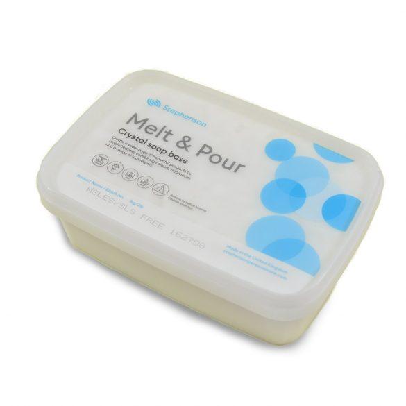 Melt & Pour fehér szappanalap - SLS és SLES mentes - 1 kg
