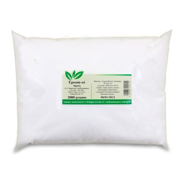 Keserűsó / Epsom só
