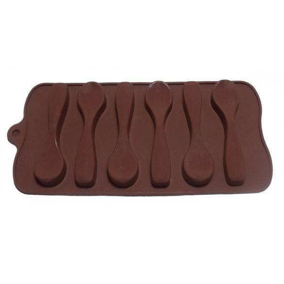 Kanál - szilikon forma - 6 részes