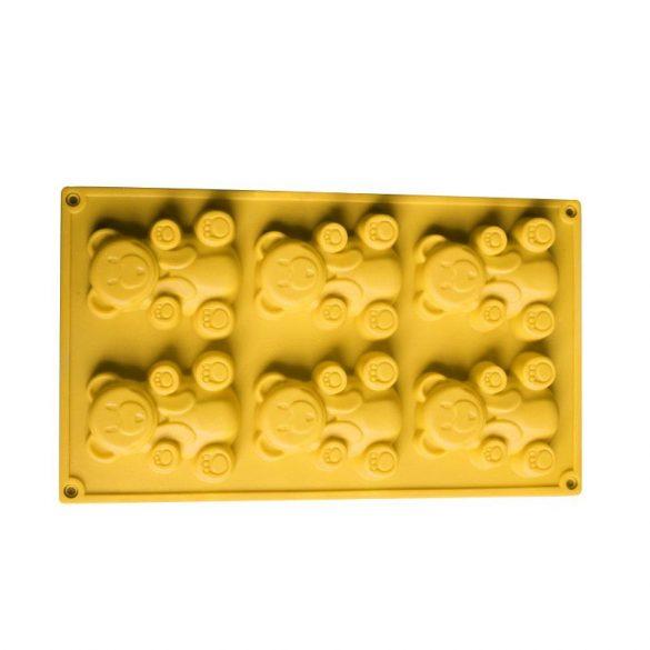 Maci - szilikon forma - 6 részes