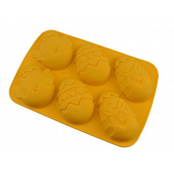 Húsvéti tojás - szilikon forma - 6 részes