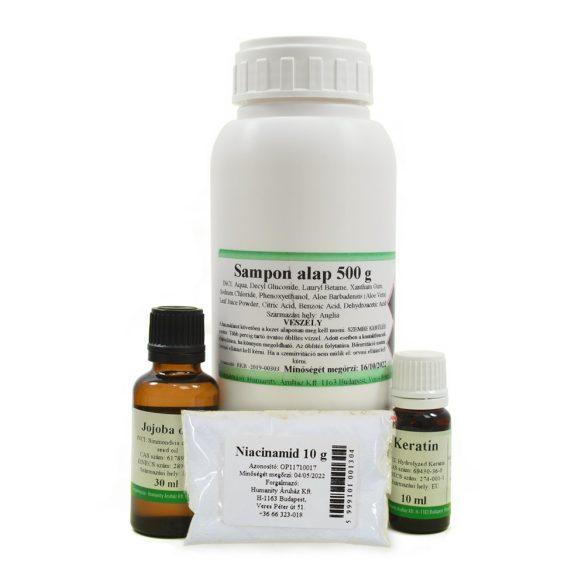 Sampon készítő csomag (zsíros hajra) 500 g