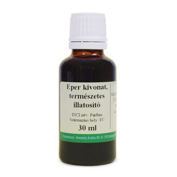Eper kivonat - természetes illatosító - 30 ml