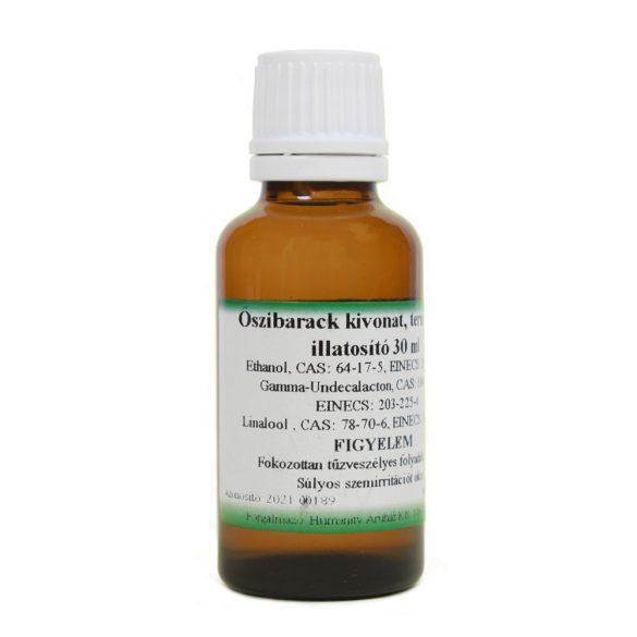 Őszibarack kivonat - természetes illatosító - 30 ml