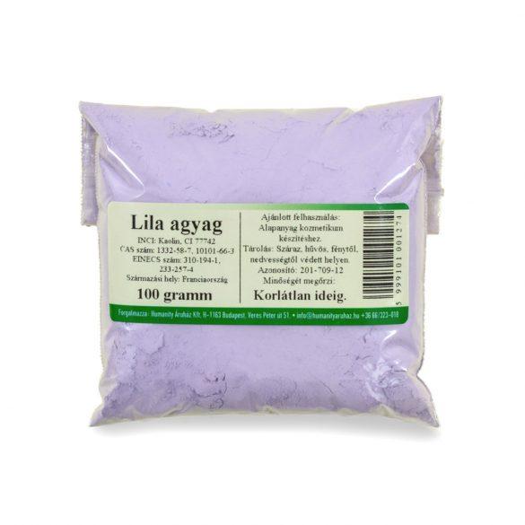 Lila agyag 100 gramm