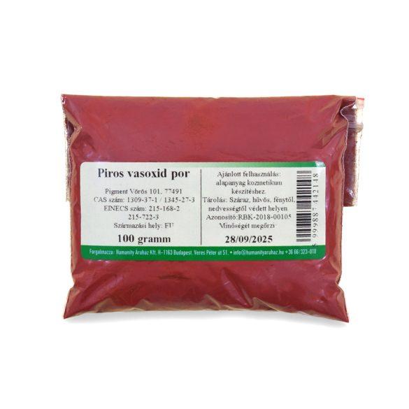 Piros vasoxid por 100 gramm